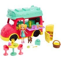 Polly Pocket Food Truck 2 em 1 Gdm20 - Mattel (252690) -