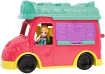 Polly Pocket - Food Truck 2 em 1 - Mattel GDM20