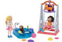 Polly Pocket Hora de Brincar Duas Amigas GFR06 Mattel -