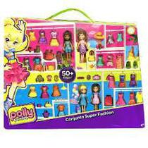 Polly Pocket Kit 4 Amigas Super Fashion - Mattel