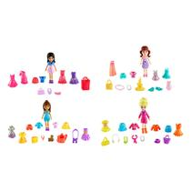 Polly Pocket Kit Amigas Super Fashion - Mattel