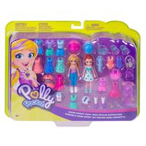 Polly Pocket Kit Grande Polly e Lila Moda Esportiva Gdm18 - Mattel