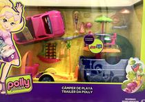 Polly Pocket Mega Trailer Da Polly - Mattel