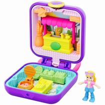 Polly Pocket Mini Estojo Playset Feirinha - Mattel GKJ40 -
