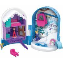 Polly Pocket - Mini Mundo de Aventura - Bola de Neve Surpresa - Mattel -