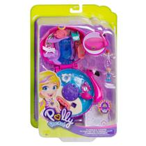 Polly Pocket Mundo de Aventura Flamingo Surpresa FRY35 - Mattel