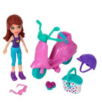 Polly Pocket - Piquenique Divertido Lila - Mattel