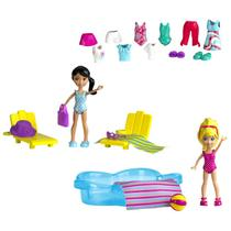 Polly Pocket Piscina das Estações - Mattel W6307