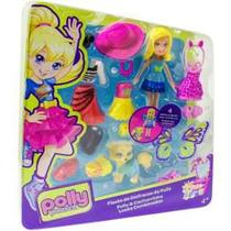 Polly Pocket - Polly Cachorrinho Looks Combinados - Mattel