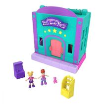 Polly Pocket Pollyville Micro Loja Fliperama Ggc29/Gfp41  Mattel -