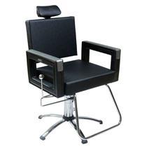 Poltrona Cadeira Hidráulica Reclinável Dompel Square -