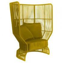 Poltrona de Corda Sunshine Amarela - Decorafast