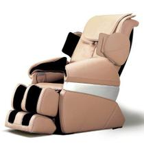 Poltrona de Massagem Cristal - 41 Airbags - Diamond Chair - Bege