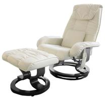Poltrona de Massagem Louisiana Courissimo Creme - 11443 - Sun house