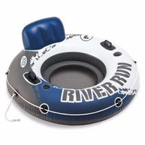 Poltrona Inflável Flutuante Refrescante Intex Lounge River Run 58825