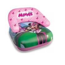 Poltrona Inflável Para Bebe Piscina Minnie 60cm Etilux DYIN-077 -