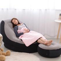 Poltrona Inflável Ultra Lounge Com Pufe Intex -