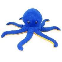 Polvo De Pelúcia 30 cm Azul RP - Reipets