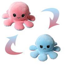 Polvo De Pelúcia Colorido Reversível - ROSA E AZUL CLARO BBR R3102 - de R 50,00 à R 99,104 - Bbr Toys