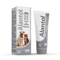 Pomada Alantol Cicatrizante Para Cães Vetnil - 25g -