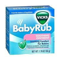 Pomada calmante BabyRub - Vicks -