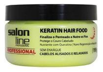 Pomada Modeladora Keratin Hair Food 195g Salon Line -