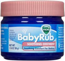 Pomada Vick Baby Rub Calmante para Bebês 50g -