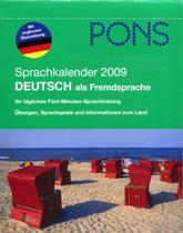 Pons - sprachkalender 2009 - Epa - epu (livros de alemao)