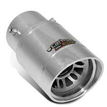 Ponteira de Escapamento Carbox Racing Agile Extreme Turbinho Alumínio Polido -