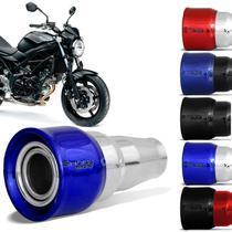 Ponteira Esportiva Escapamento Yamaha R3 2015 2016 2017 2018 2019 2020 Cromado Black Azul Cereja - Shutt