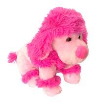 Poodle Cadela de Pelúcia Pink Buba 2223 -