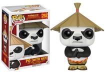 Pop funko 252 po with hat kung fu panda