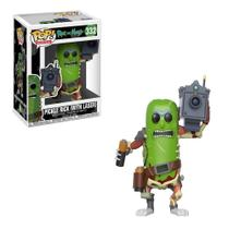 Pop funko 332 pickle rick laser -