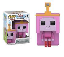 Pop Funko 415 Princess Bubblegum Adventure Time Minecraft - Funko Pop