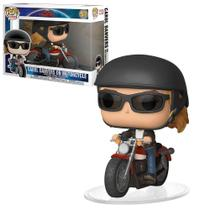 Pop funko 57 carol danvers motorcycle captain marvel -