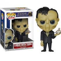 Pop funko 805 lurch with thing addams family tropeço -