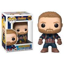 POP! Funko Marvel: Capitão América Infinify War  - Guerra Infinita  288 -