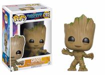 POP! Funko Marvel: Groot - Guardiões da Galáxia 2  202 -