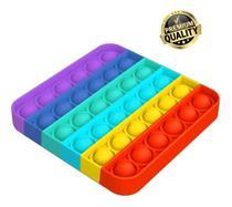 Pop It Fidget Toy, Empurre Pop Bubble Fidget Anti Stress - StofelStore