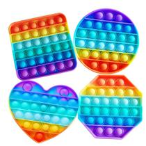 Pop It Fidget Toys Brinquedo Bolhas Anti Stress Sensorial Colorido Peça Original - Popit
