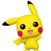 Pop! pokémon - pikachu (waving) - 553 - Funko