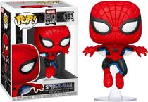Pop Spider Man 593 Marvel - Funko - Pop! Funko
