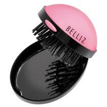 Pop Up Brush Belliz - Mini Escova de Cabelos -