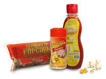 Popcorn Premium 200g milho + Óleo Sabor Manteiga + Tempero Popcorn Presunto - Www.Flavoredpopcorn.Com.Br