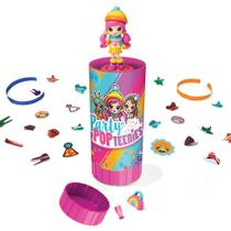 Poppers Party Pop Teenies Festa Surpresa Mini Bonecas - Sunny -