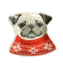 Porta bijoux cachorro trinket em cerâmica - Wellmix