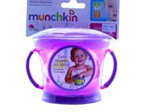 Porta biscoitinhos e petiscos - Munchkin -  Rosa -