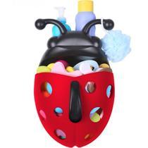 Porta brinquedo banho joaninha - Boon