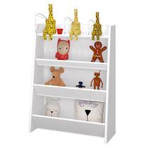 Porta Brinquedos Teco Branco Acetinado  Móveis Estrela - Moveis estrela