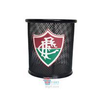 Porta Canetas Lápis Treco Fluminense Produto oficial preto -